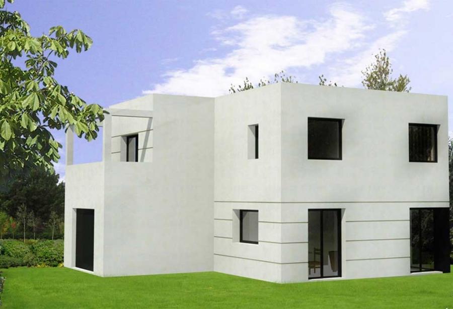 maison cubique calvados
